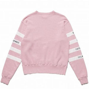 HUMAN MADE – FOOTBALL SWEATSHIRT (PINK)