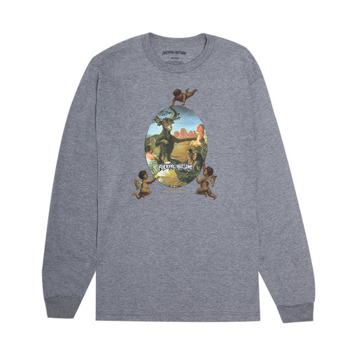 FUCKING AWESOME – SINNERS L/S TEE (GREY HEATHER)