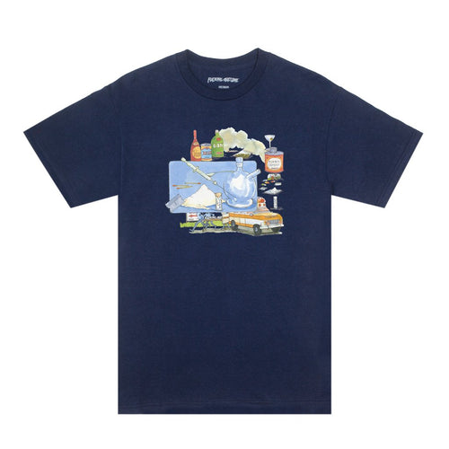FUCKING AWESOME – AMBULANCE TEE (NAVY)