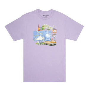 FUCKING AWESOME – AMBULANCE TEE (ORCHID)