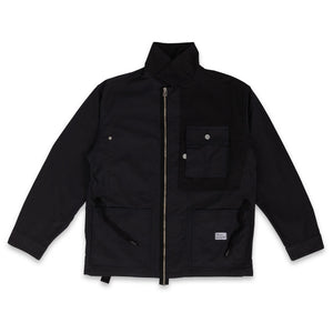 "BEDWIN & THE HEARTBREAKERS – USMC COVERALL JACKET ""NICK"" (BLACK)"