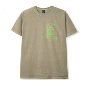 BRAIN DEAD – HEATWAVE S/S TEE (NATURAL)