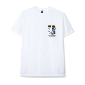 BRAIN DEAD – INVASION S/S TEE (WHITE)