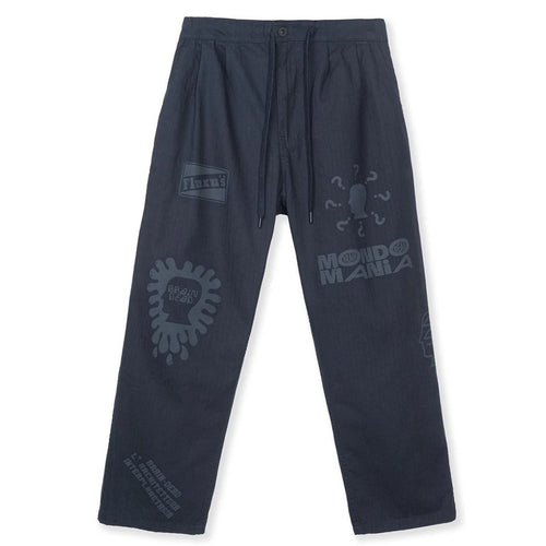 BRAIN DEAD – PRINTED CLIMBER PANT (NAVY)