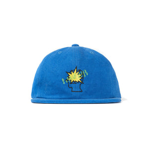 BRAIN DEAD – BANG LOGO STRAP BACK (BLUE)