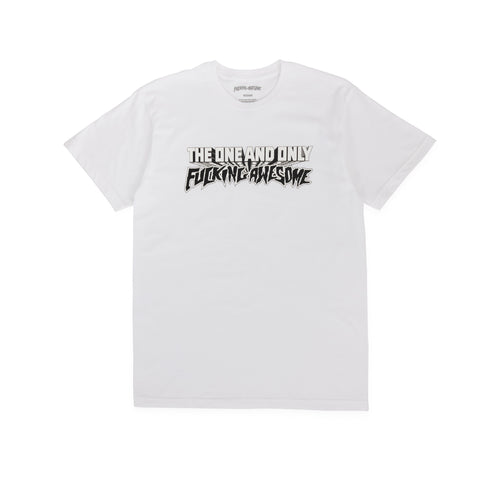 FUCKING AWESOME – ONE & ONLY TEE (WHITE)