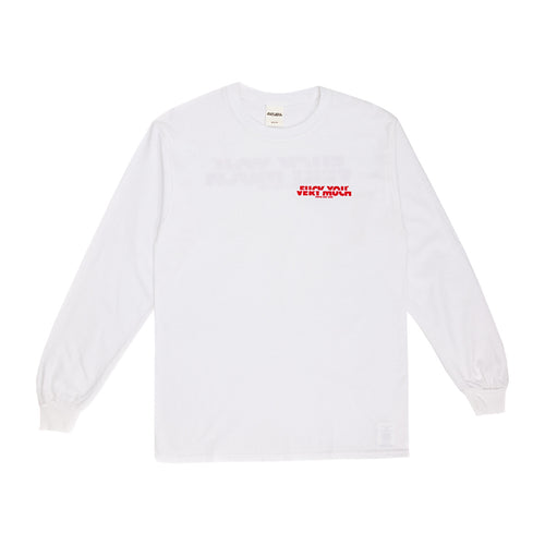 F**K YOU VERY MUCH – FYVM L/S (WHITE/RED)