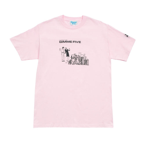 GIMME 5 – BOILED S/S TEE (PINK)