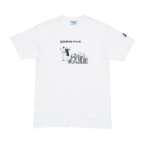 GIMME 5 – BOILED S/S TEE (WHITE)
