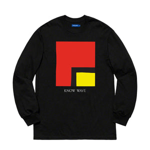 KNOW WAVE – KWAN L'S WORTH L/S TEE (BLACK)