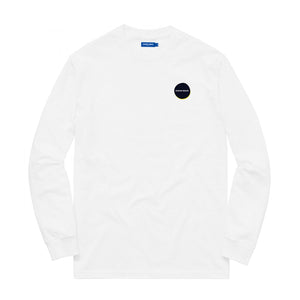 KNOW WAVE – CHOPPED AND SCREWED L/S TEE (WHITE)