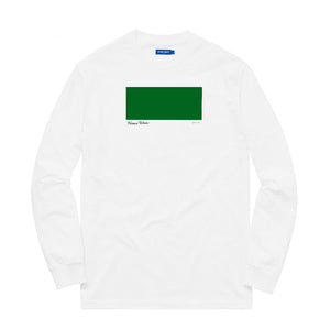KNOW WAVE – AP 1/2 L/S TEE (WHITE)