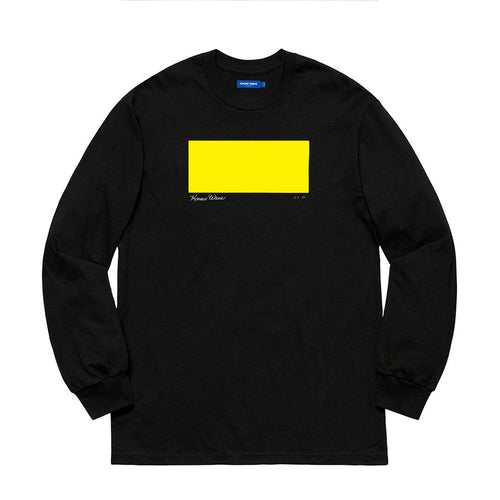 KNOW WAVE – AP 1/2 L/S TEE (BLACK)