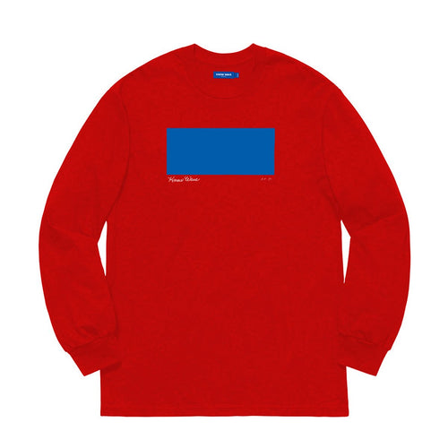 KNOW WAVE – AP 1/2 L/S TEE (RED)