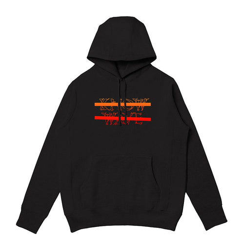 KNOW WAVE – CLASSIC ANXIETY LOGO PULLOVER (BLACK)
