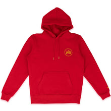 Laden Sie das Bild in den Galerie-Viewer, YETI OUT – LOGO HOODIE (RED)