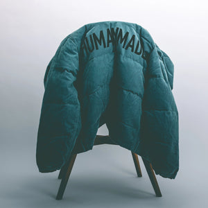 HUMAN MADE – CORDUROY DOWN JACKET (BLUE)