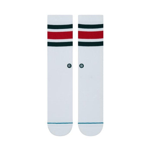 STANCE – BOYD 4 (WHITE/RED)
