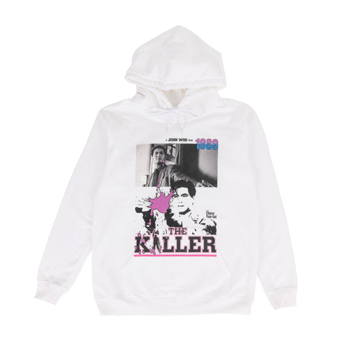 RAW EMOTIONS – THE KILLER HOODIE (WHITE)