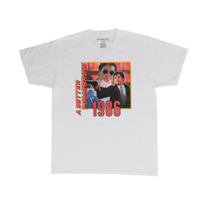 RAW EMOTIONS – A BETTER TOMORROW TEE (WHITE)