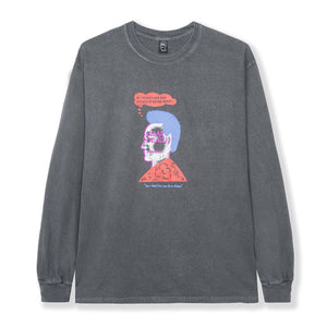 BRAIN DEAD – HEAD PARTY L/S (WASHED BLACK)