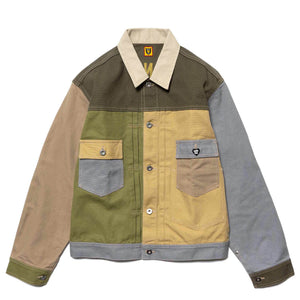 HUMAN MADE – CRAZY WORK JACKET (BEIGE/MULTI)