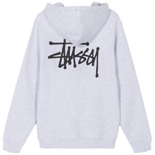 Laden Sie das Bild in den Galerie-Viewer, STÜSSY – BASIC STUSSY HOOD (ASH HEATHER)