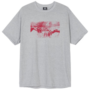 STÜSSY – CREATION TEE (GREY HEATHER)