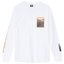 Laden Sie das Bild in den Galerie-Viewer, STÜSSY – GREAT OUTDOORS L/S TEE (WHITE)