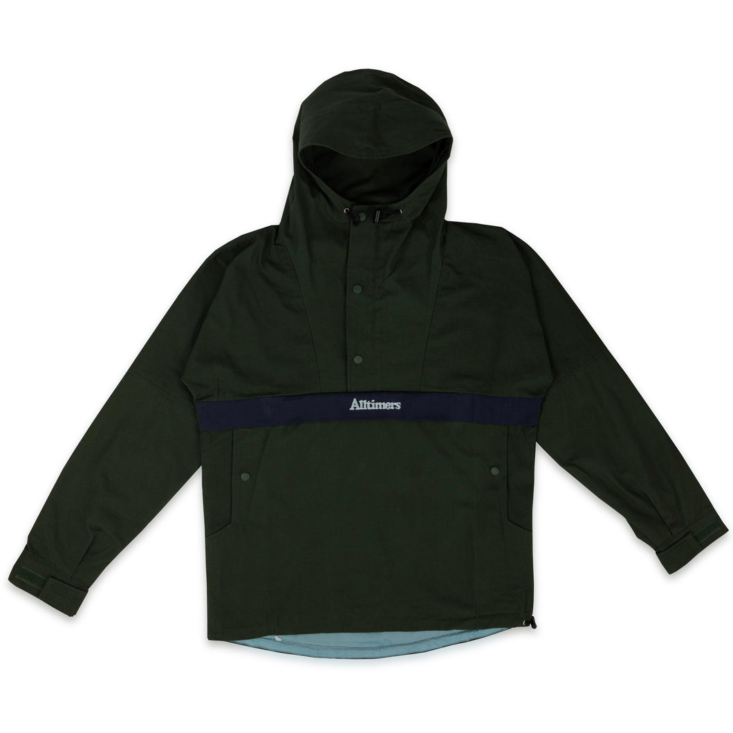 ALLTIMERS – JACK ANORAK JACKET (GREEN)