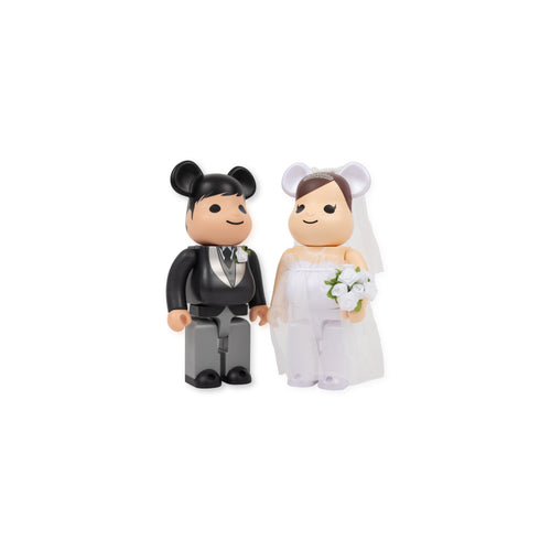 MEDICOM – BE@RBRICK WEDDING EDITION 400%