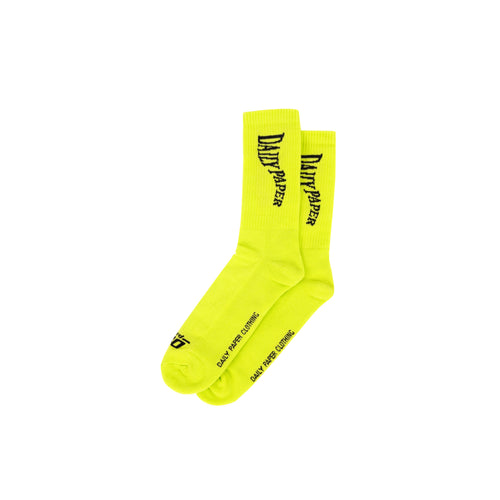 DAILY PAPER – GUB SOCK (LIME GREEN)