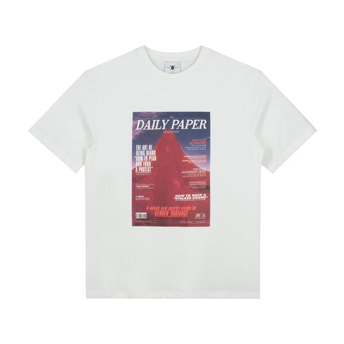 DAILY PAPER – GOUS 3 T-SHIRT (WHITE)