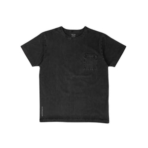 DELUXE – PINA COLADA TEE (BLACK WASHED)
