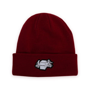 FUCKING AWESOME – BOX WINGS BEANIE (BORDEAUX)