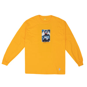 FUCKING RABBITS – THANK YOU FOR NOT SMOKING L/S TEE (YELLOW)