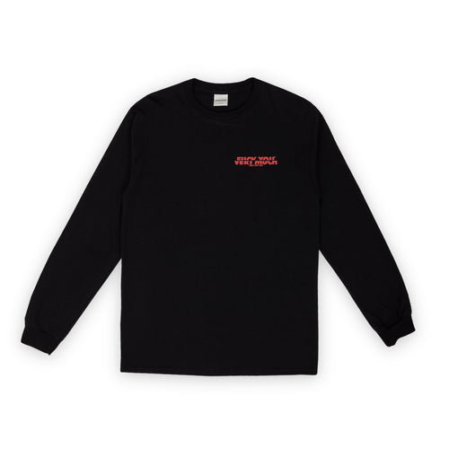 F**K YOU VERY MUCH – FYVM L/S (BLACK/RED)