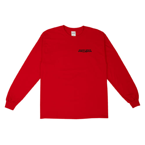 F**K YOU VERY MUCH – FYVM L/S (NEON RED/BLACK)