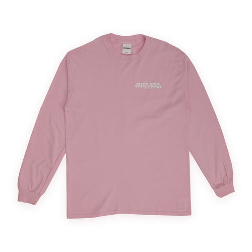 F**K YOU VERY MUCH – FYVM L/S (PINK/WHITE)