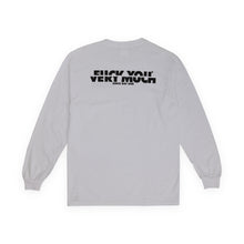 Laden Sie das Bild in den Galerie-Viewer, F**K YOU VERY MUCH – FYVM L/S (WHITE/BLACK)