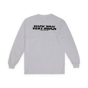 F**K YOU VERY MUCH – FYVM L/S (WHITE/BLACK)