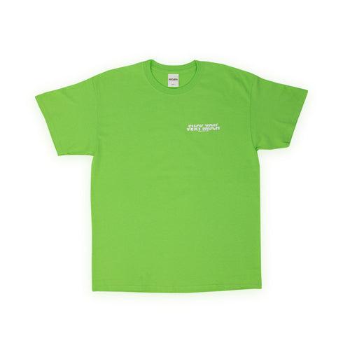 F**K YOU VERY MUCH – FYVM TEE (NEON GREEN/WHITE)