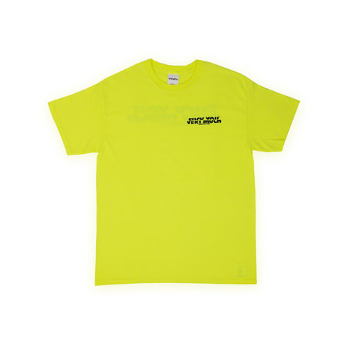 FUCK YOU VERY MUCH – FYVM TEE (NEON YELLOW/BLACK)