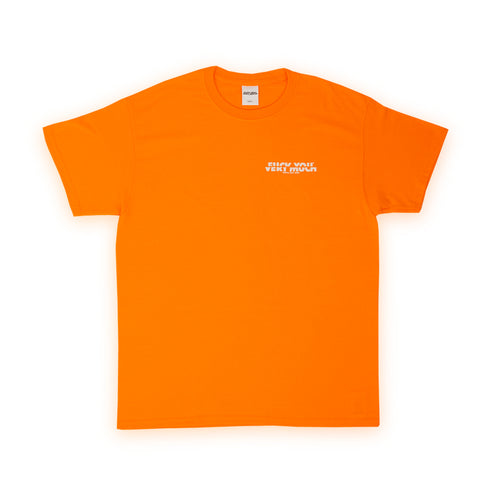 FUCK YOU VERY MUCH – FYVM TEE (ORANGE/WHITE)