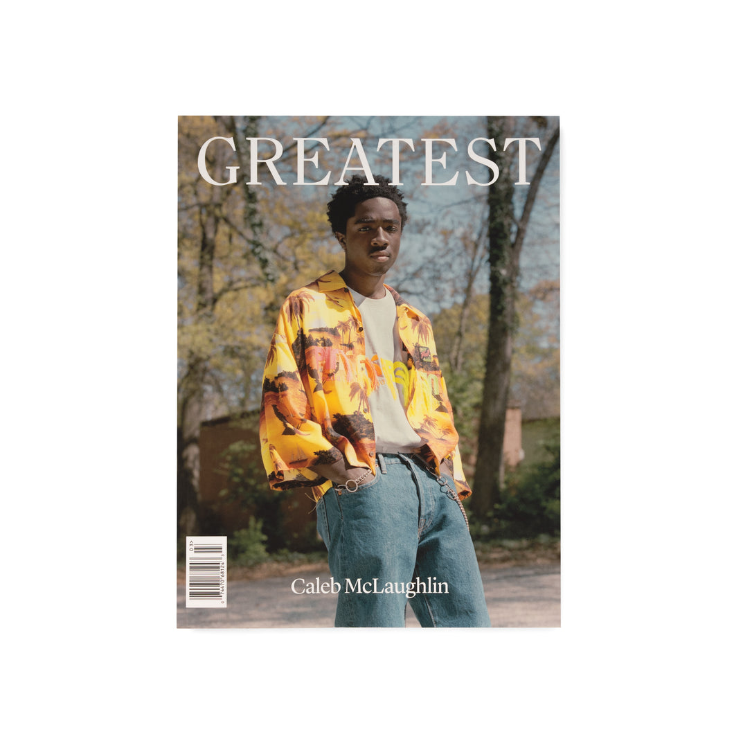 GREATEST – GOAT MAGAZINE ISSUE 03