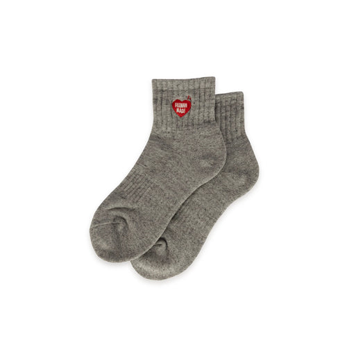 HUMAN MADE – SHORT PILE SOCKS (GRAY)
