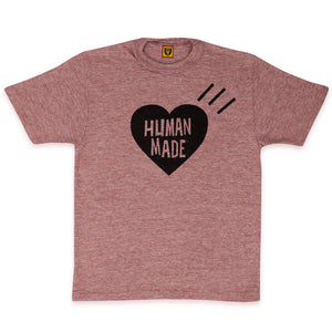 HUMAN MADE – HEART COLOR T-SHIRT #01 (PINK)
