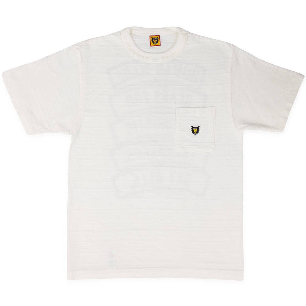 HUMAN MADE – POCKET SKULL T-SHIRT #01 (WHITE)