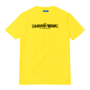 KNOW WAVE – RIMBAUD TEE (YELLOW)