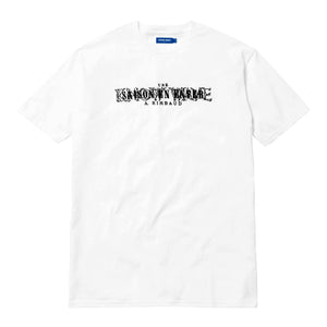 KNOW WAVE – RIMBAUD TEE (WHITE)